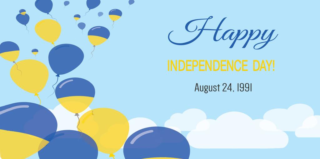 Happy Independence Day, Ukraine!