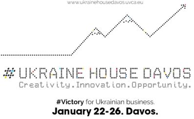 Ukraine House Davos: Creativity. Innovation. Opportunity