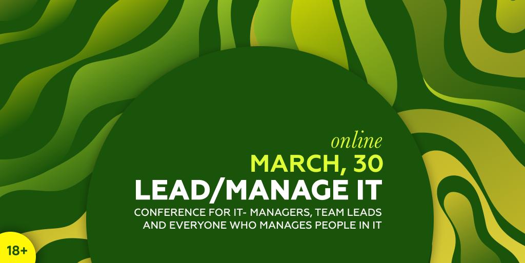 Lead/Manage IT 2021 Online